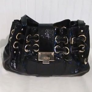 SALE Auth Gorgeous Jimmy Choo Patent Leather Bag